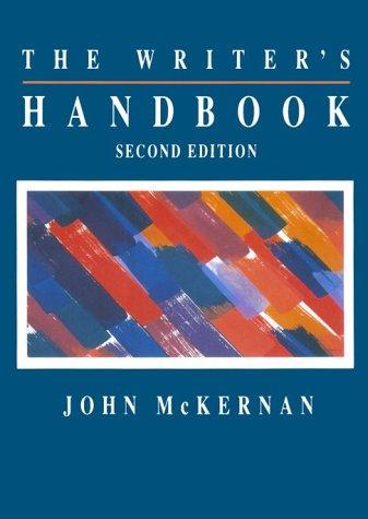 9780030534539: The Writer's Handbook