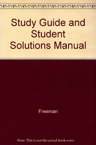 9780030535031: Principles of Modern Chemistry (Study Guide and Student Solutions Manual)