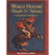 9780030535284: World History: People and Nations Modern World