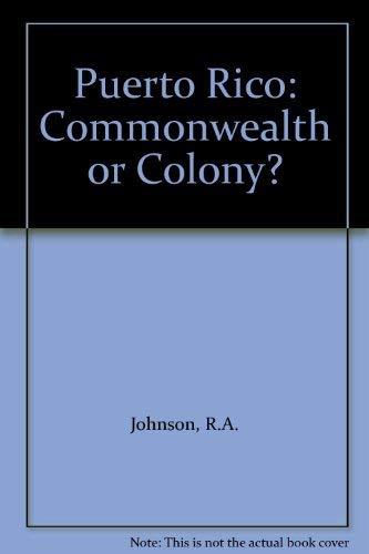 Puerto Rico, Commonwealth or Colony: Johnson, Roberta Ann