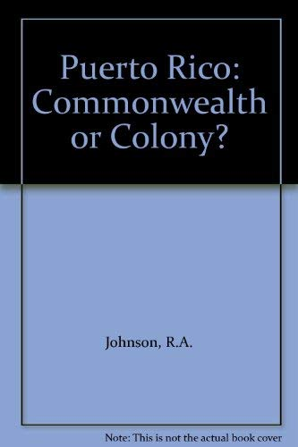 Puerto Rico, Commonwealth or Colony: Johnson, Roberta Ann