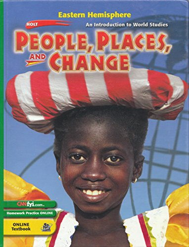 9780030536373: Holt People, Places, and Change: An Introduction to World Studies: Student Edition Eastern Hemisphere 2003