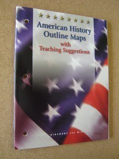 9780030536649: Holt Call to Freedom: American History Outline Maps with Teacher Suggestions