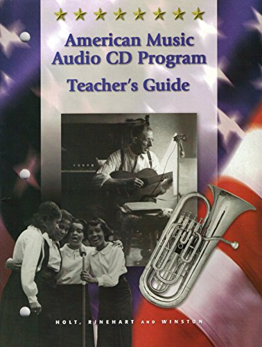 9780030536724: American Music Audio CD Program,Teacher's Guide