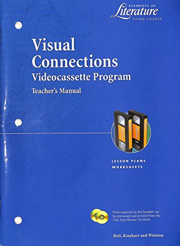 9780030537844: TM Visual Connections Eol 2000 G 9