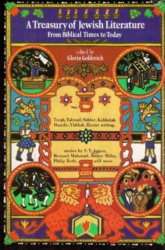 9780030538315: A Treasury of Jewish Literature