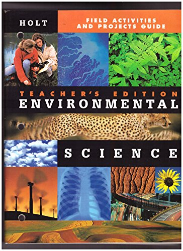 9780030538391: Field ACT & Projects GD Te Env Sci 2000