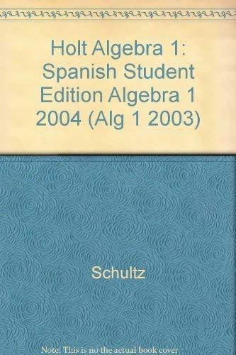 9780030538964: Algebra 1