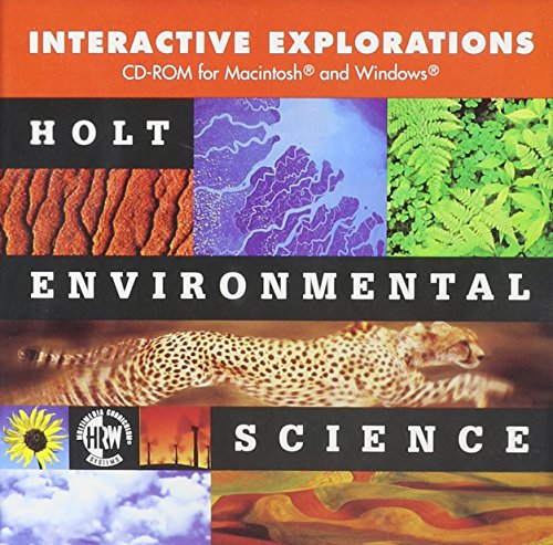 9780030539145: Holt Environmental Science: Interactive Explor CD-ROM Grades 9-12