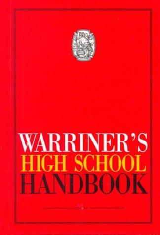 9780030540097: Warriner's High School Handbook