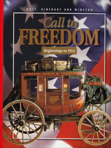 9780030540424: Pe Call to Freedom B-1914 2000