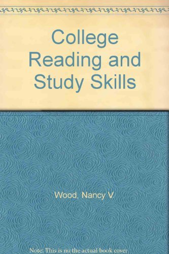 9780030540639: College Reading and Study Skills: A Guide to Improving Academic Communication