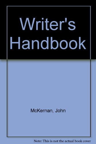 9780030540677: Writer's Handbook