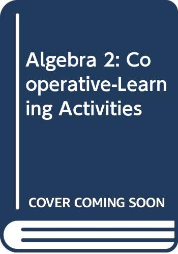 9780030540783: Algebra 2: Cooperative-Learning Activities