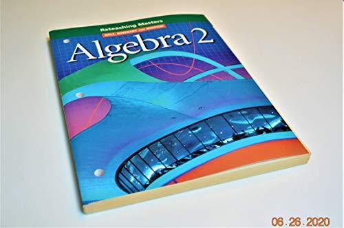 9780030540882: Holt Algebra 2: Reteaching Masters