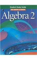 9780030541025: Holt Algebra 2: Student Study Guide