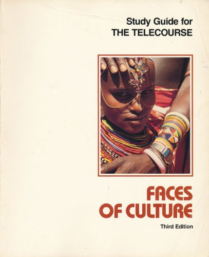 9780030541636: Study guide for the telecourse Faces of culture
