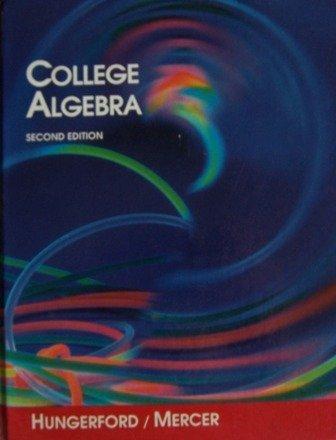 9780030542299: College Algebra