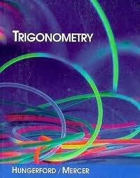 9780030542640: Trigonometry