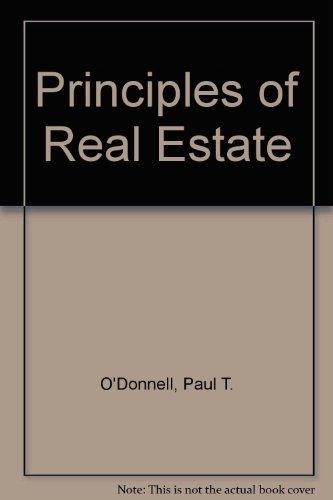 9780030542718: Principles of Real Estate