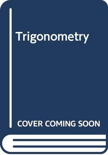 9780030542725: Trigonometry