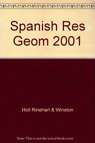 9780030543333: Holt Geometry: Spanish Resources (Spanish Edition)