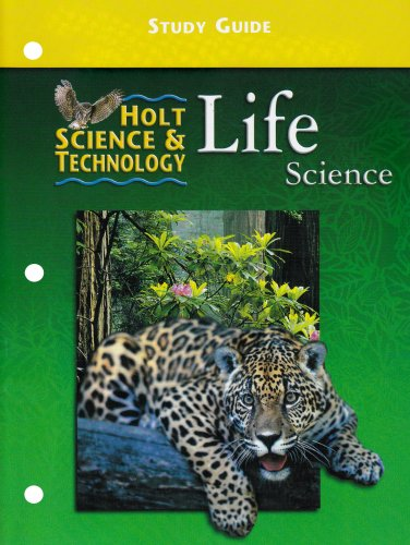9780030543791: Study Guide Holt Science and Technology: Life Science