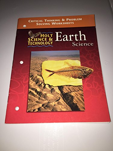 9780030543883: Earth Science Critical Thinking and Problem Solving Worksheets