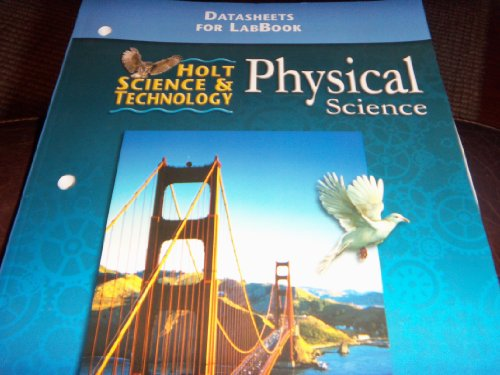 9780030544040: Holt Science&Technology Physical Science Datasheets for LabBook