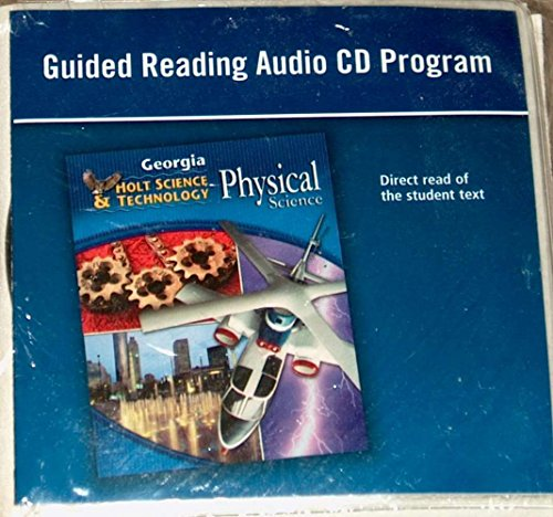 Holt Science & Technology: Physical Science: Guided Reading Audio CD Program