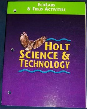 9780030544187: Holt Science & Technology: Eco-Labs & Field Activities, 2001