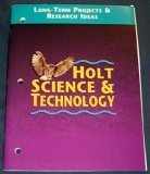 9780030544217: Holt Science & Technology: Long Term Projects & Research Ideas