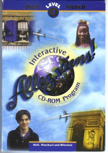 9780030544286: Allez Viens, Level 3: Interactive CD-ROM Program (French Edition)