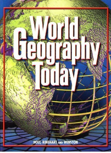 9780030544668: World Geography Today