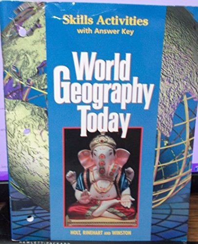 9780030544712: World Geography Today: Skills Activities with Answer Key