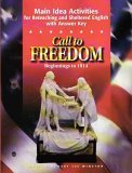 9780030544965: Call to Freedom Beginnings to 1914: Main Idea Activities