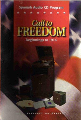 9780030545078: Spanish Audio CD Program: Call to Freedom- Beginnings to 1914