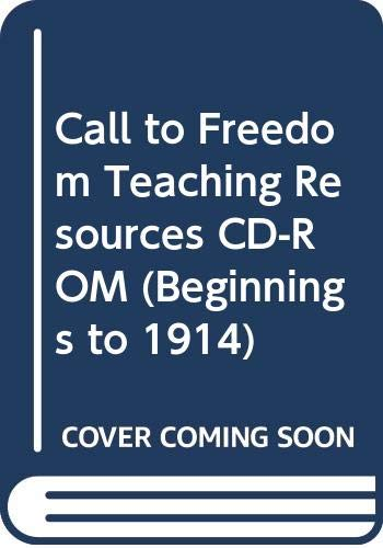 9780030545085: Call to Freedom Teaching Resources CD-ROM (Beginnings to 1914)