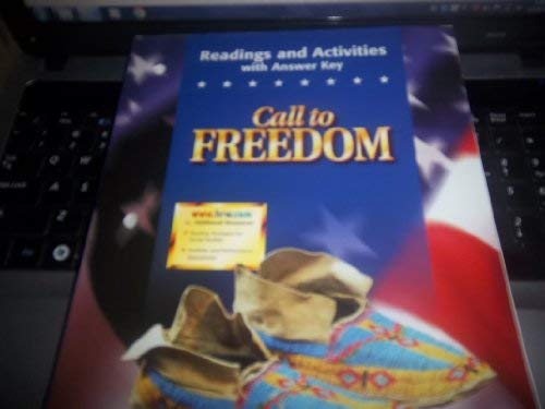 9780030545290: Call to Freedom : Readings and Activities with Answer Key - Full Volume