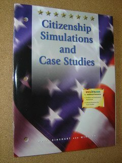 9780030545481: Citizenship Simulations and Case Studies
