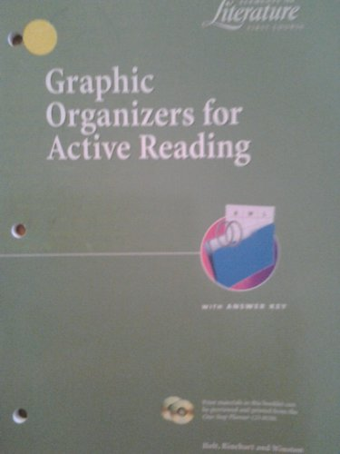 9780030545634: Elements of Literature First Course: Graphic Organizers for Active Reading