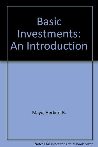 9780030546914: Basic Investments