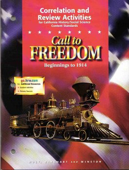 9780030548192: Call to Freedom Beginnings to 1914: Correlation and Review Activities