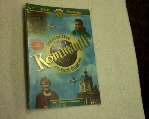 9780030548482: Komm Mit!: Level 1 Interactive Cd-Rom Program for Macintosh and Windows