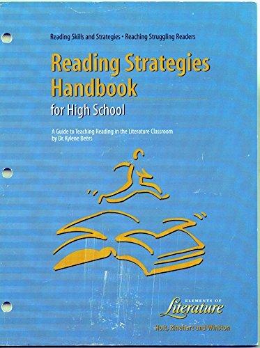 9780030548574: Reading Skills and Strategies: Reading Strategies Handbook for High School (Elements of Literature)