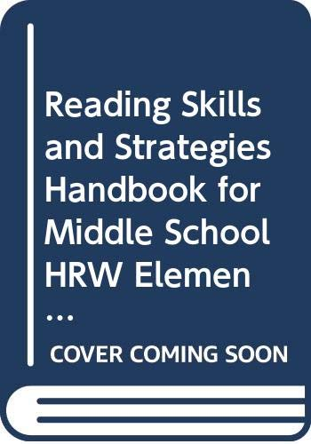 9780030548628: Reading Skills and Strategies Handbook for Middle School HRW Elements of Literature.