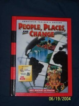 9780030548635: People, Places, and Change - Annotated Teacher's Edition