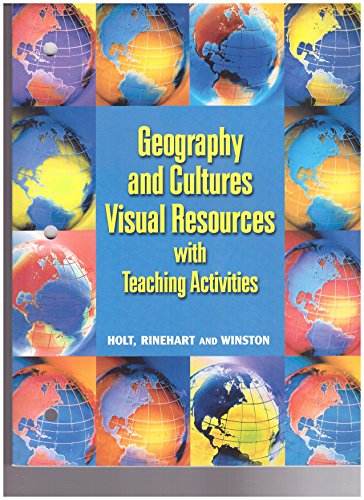 9780030548710: Geography & Cultures Visual Resources w/Teaching Activitites