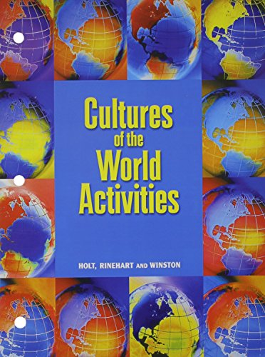 9780030549120: Cultures of the World Activities World Geography Today
