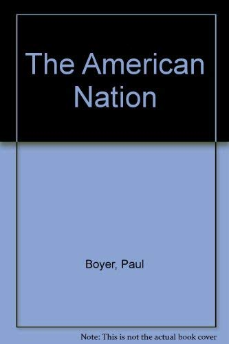 9780030549281: The American Nation